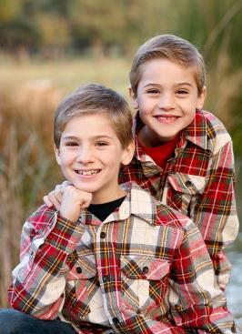 Aaron & Jonny Christmas 2009