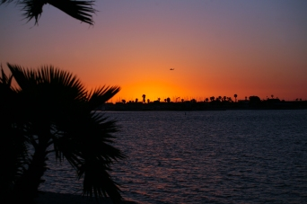 Apache Sunset at Mission Bay San Diego