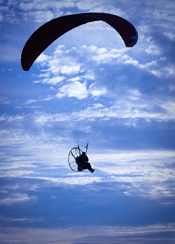 Flying High over Huntington Beach