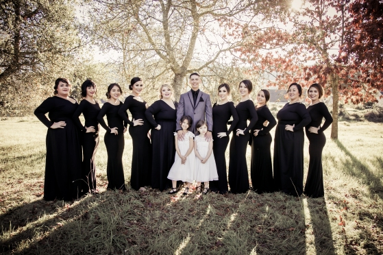 Groom&Bridesmaids